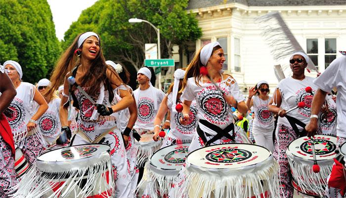 Samba Reggae drums