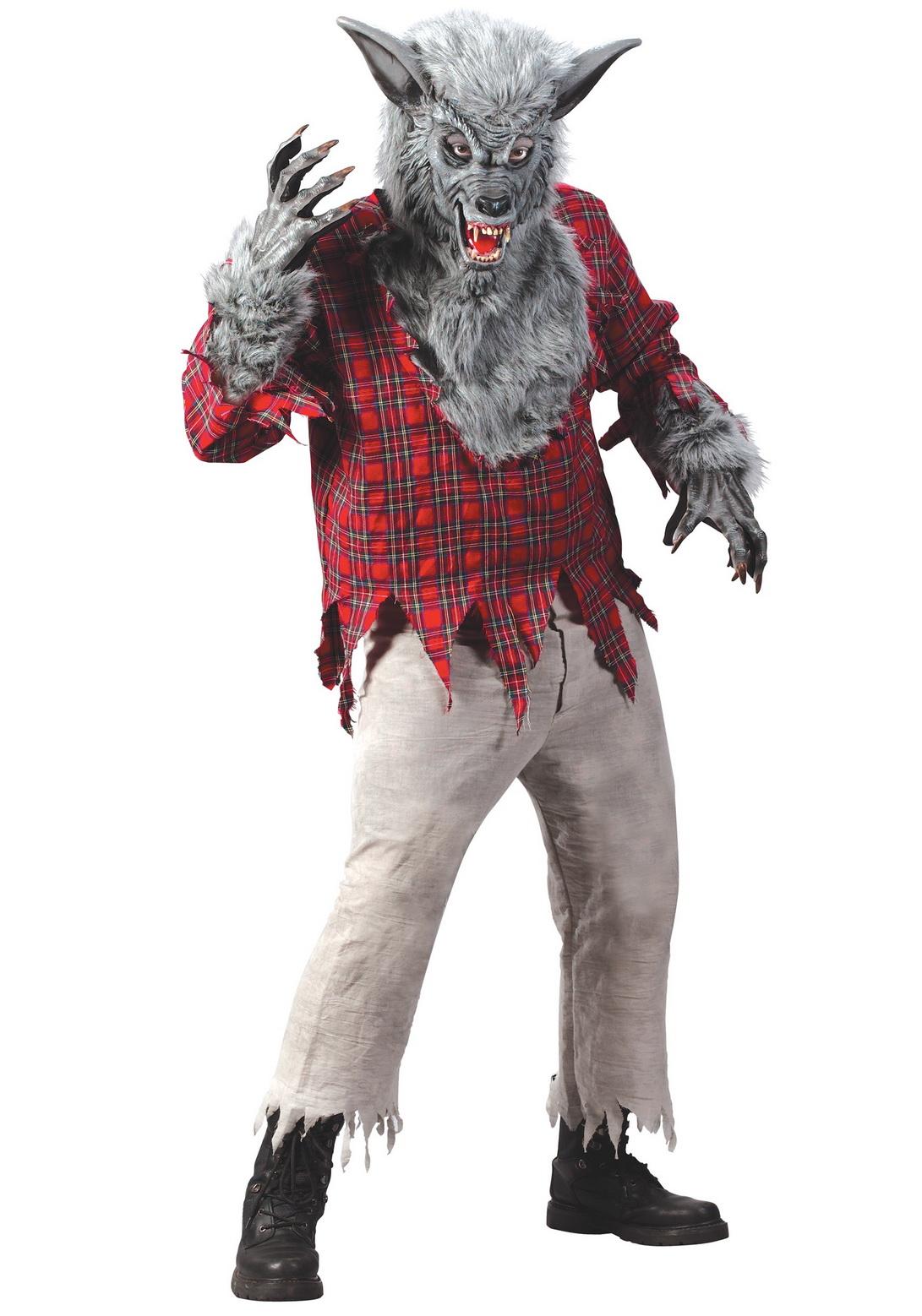 Silver Werewolf Costume Male
