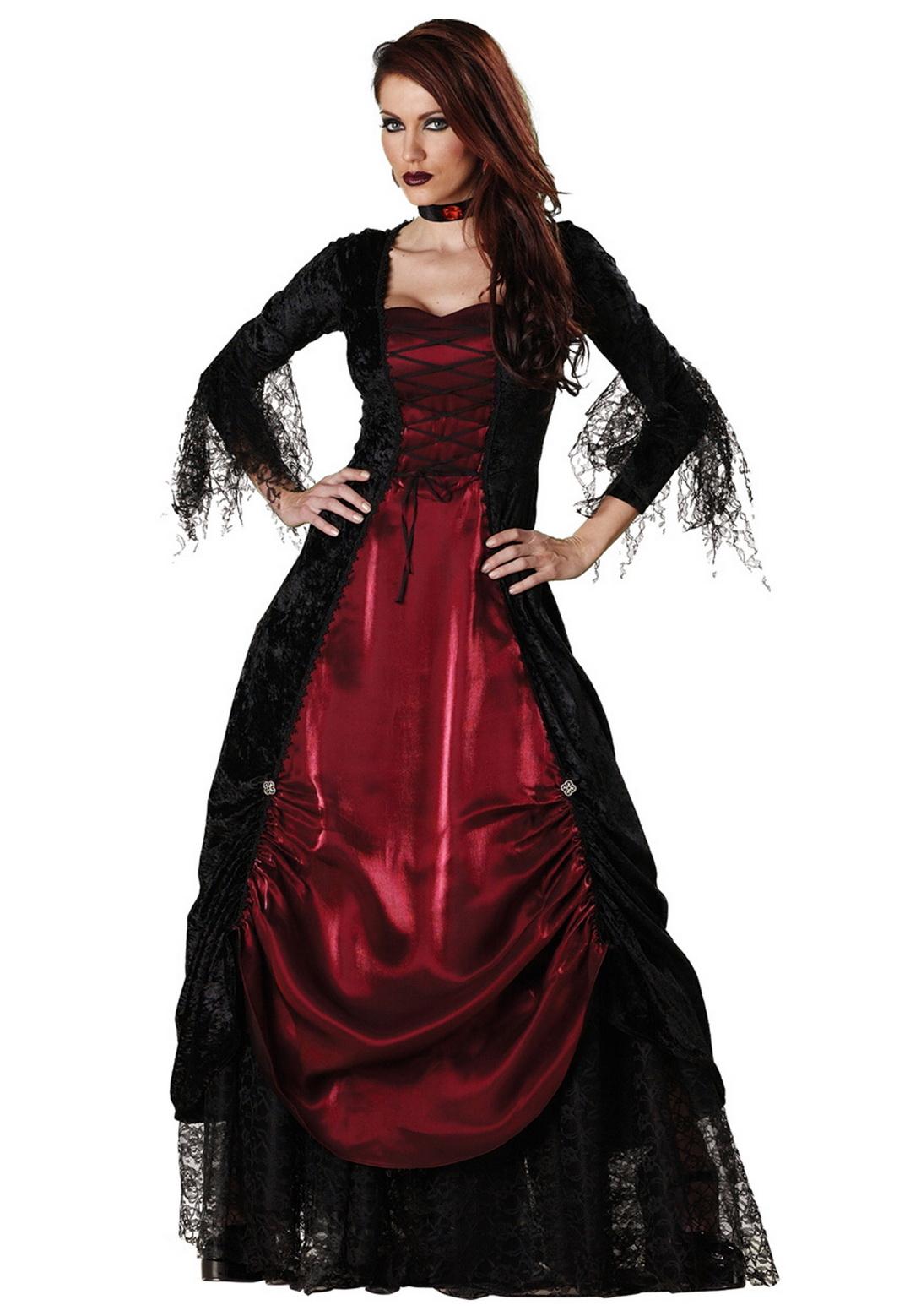 Adult Deluxe Vampira Costume