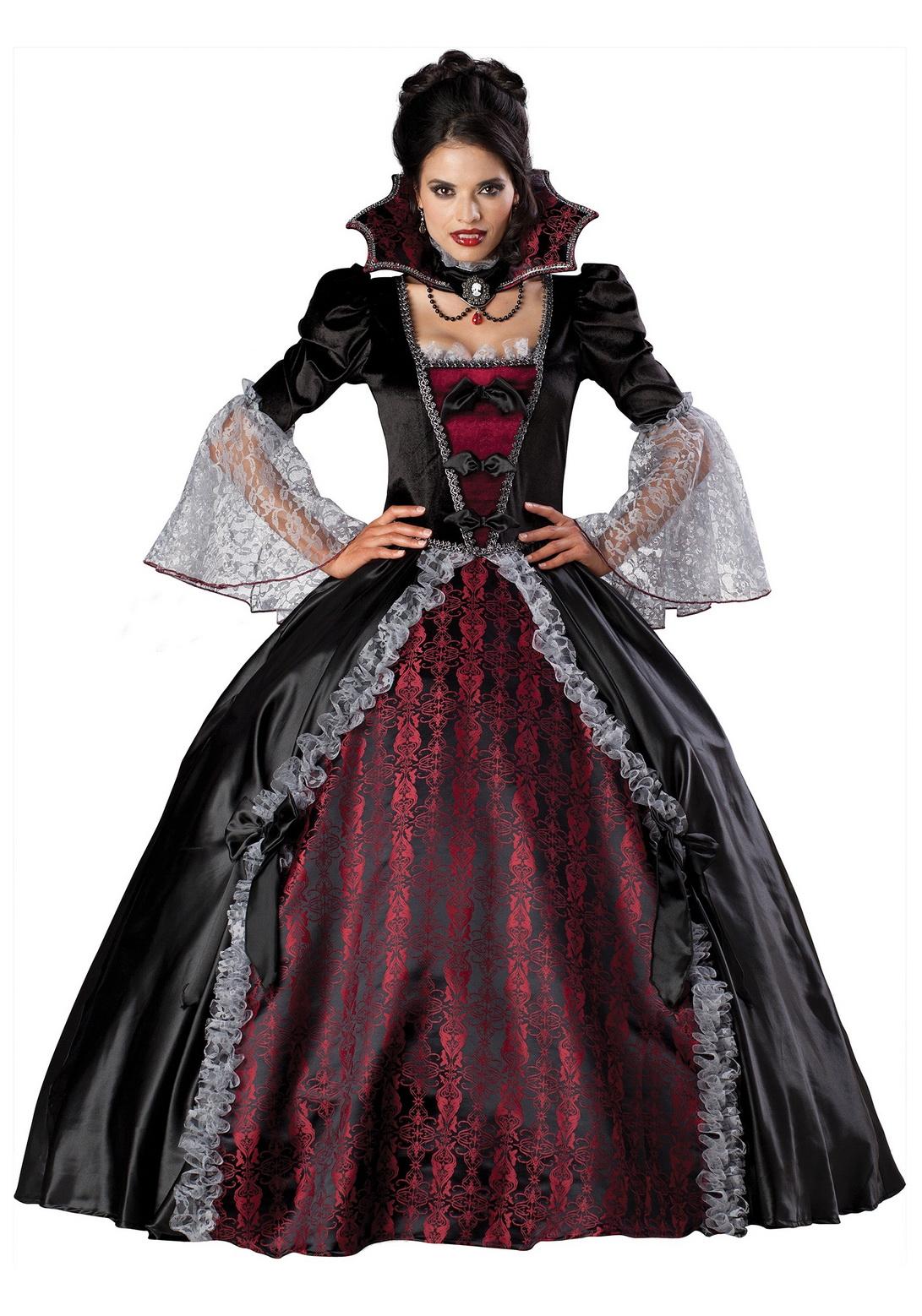 Adult Female Versailles Vampiress Costume