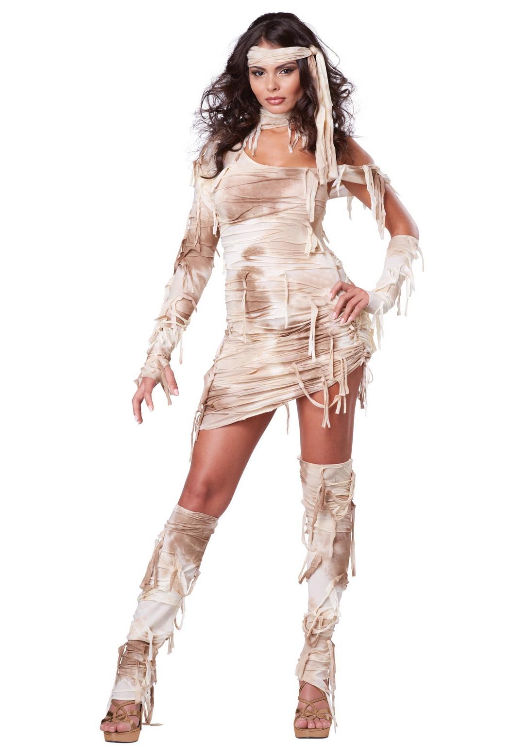 Adult Sexy Female Mystical Mummy Costume