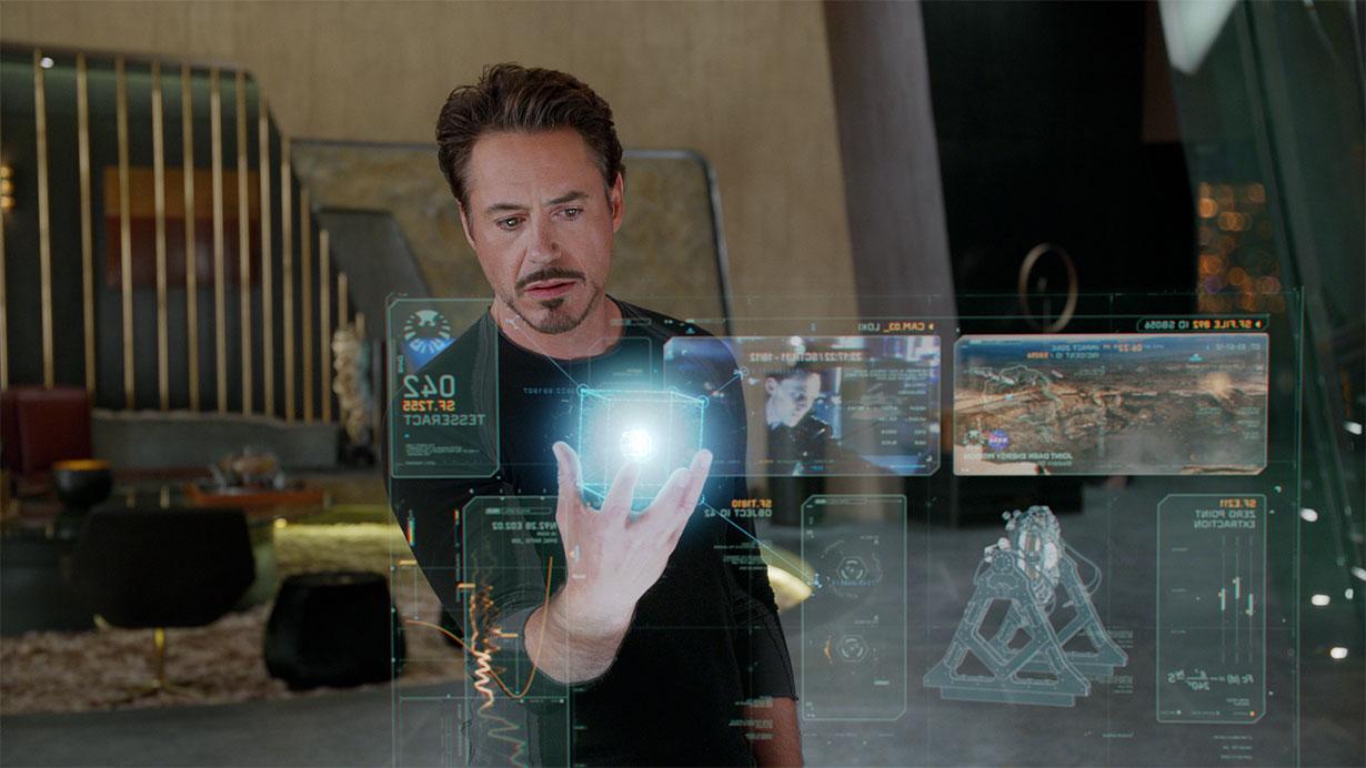 Holographic interface, Iron Man movie