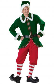 Adult Santas Elf Costume